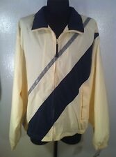 Men NEW NAUTICA NWT 2XL XXL Zip Front Polyester Lining Rayon Outer Wind Breaker