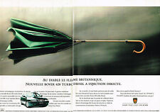 PUBLICITE ADVERTISING 104 1995  ROVER  620 TURBO  DI ( 2 pages)
