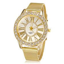 Women's Watch Fashion Diamante Golden Band New Fashion 2015 HOT
