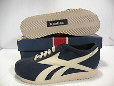 REEBOK CLASSIC MARATHON RACER SAILCLOTH LOW MEN SHOES NAVY 1-59697 SIZE 11.5 NEW