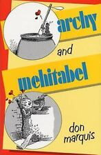 Anchor Literary Library: Archy and Mehitabel by Don Marquis (1987, Paperback)