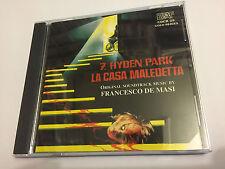 7 HYDEN PARK, LA CASA MALEDETTA / SEVEN... (De Masi) OOP Soundtrack Score OST CD