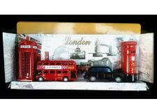 LONDON SOUVENIRS GIFT PACK - BRITISH ICONS METAL GIFT SET - METAL DIE CAST GIFTS