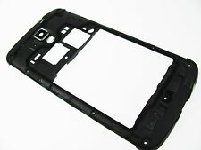 BLACK- SAMSUNG GALAXY S4 ACTIVE i537 ATT CHASSIS CENTER CASE HOUSING+CAMERA LENS