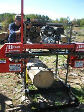 2017 HFE 30 Portable Sawmill Portable Bandmill Band mill lumber