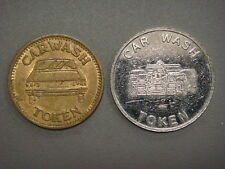 Pair of Car Wash tokens (Splash & Dash, Victory Lane)