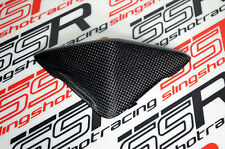 Ducati Hypermotard 796 1100 S EVO Top Cover Headlight Cowl Fairing Carbon Fiber