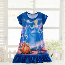 Girls Princess Snow White Fancy Dress Costume Kids Outfit Age 2/3/4/5/6/7/8/9/10