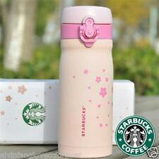Vacuum Stainless Steel Cherry Blossom Thermos Tea Coffee Cup Travel Mug Gift