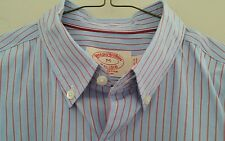 Brooks Brothers Slim shirt Size MED blue button down RED LABEL