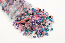 32g/500pcs 4mm Czech Glass Seed Spacer Beads Jewelry Making DIY 10 Colors