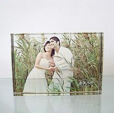 Personalized  paperweight Gift for Her-- ViVi Photo crystal  (Rectangle)