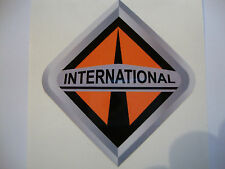 "2 X INTERNATIONAL  STICKERS 4"" POWER STROKE  TRACTOR 4X4 QUAD FARMERS VEHICLES"