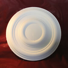 Ceiling Rose Plaster Plain Traditional Victorian 350mm Handmade