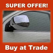 MITSUBISHI ASX 2012+ CHROME SIDE DOOR MIRROR COVERS SURROUNDS TRIMS UK
