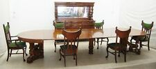 Victorian RJ Horner Victorian Oak Dining Room Suite 8-Pc #7773