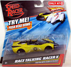 Hot Wheels Speed Racer RACE TALKING RACER X NEW Mattel movie sounds Target