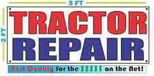 TRACTOR REPAIR Banner Sign NEW Larger Size Best Quality for the $$$