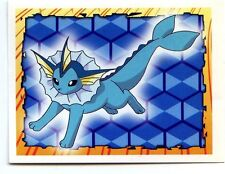 POKEMON CARTE MERLIN STICKER 1999 CARD N°  134 VAPOREON AQUALI