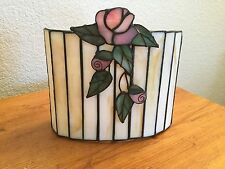 "Shabby Chic Roses Votive Candle Holder/Reflector New! ""RARE"""