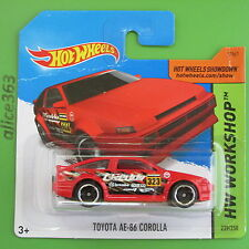 HOT WHEELS 2015 - Toyota AE-86 Corolla  - HW Workshop -  239  -  neu in OVP