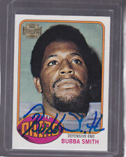 *BUBBA SMITH*  2001 Topps Archives 1976 RP Hand-Signed Auto  BALTIMORE COLTS