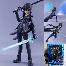 Anime Sword Art Online SAO Figure Toy Kirito Kazuto Figure Figma 174 New W/ Box
