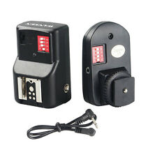 16 Channels FM Radio Wireless Remote Speedlite Flash Trigger for Canon for Nikon