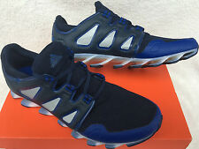 Adidas Springblade Pro B27540 Navy Royal Silver Marathon Running Shoes Men's 9