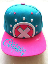 Hip-hop hat/cap with Japanese Anime ONE PIECE Tony Tony Chopper embroidery mark