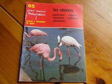 VOLUMETRIX 65: LES OISEAUX livret éducatif 32 images à découper