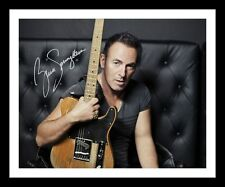 BRUCE SPRINGSTEEN AUTOGRAPHED SIGNED & FRAMED PP POSTER PHOTO