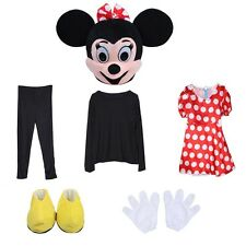 Friend of Minnie Mouse, this is Miss red Mousey Mascot Costume Adult size