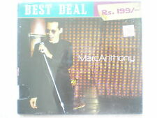 Marc Anthony MarcAnthony Best Deal Rs199 CD 2006  RARE INDIA HOLOGRAM NEW
