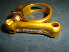 TOKEN SEATPOST CLAMP, 34.9MM, GOLD, NEW