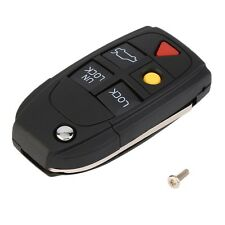 5 Button Remote Case Fob Flip Key Shell fit for VOLVO S60 S80 V70 XC70 XC90 F7