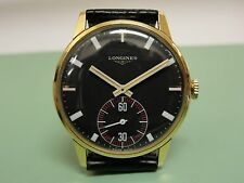 EXCELLENT VINTAGE MENS LONGINES 1970s WRISTWATCH CAL 490 KEEPS TIME!