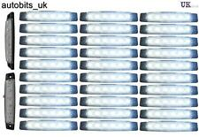30 pcs 12V 6SMD LED FRONT WHITE CLEAR SIDE MARKER LIGHT LAMP TRUCK TRAILER LORRY