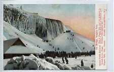 (Gw829-449) Ice Bridge, Niagara Falls, Ontario, Canada c1910 VG+