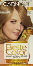 6 X Garnier Belle Color Permanent 8 Natural MEDIUM Blonde