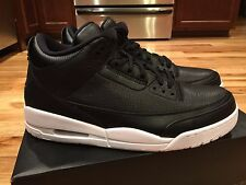 Nike Air Jordan Retro III 3 CYBER MONDAY Black White 136064-020 Size 11.5 NEW
