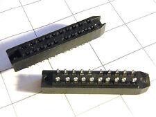 2x Federleiste 20pol. DIN41622, Lötanschluß