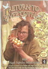 RETURN TO RIVER COTTAGE - Complete. Hugh Fearnley-Whittingstall (2xDVD SET 2004)