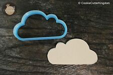Soft Cloud Plaque Cookie Cutter, 3D Printed
