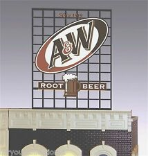 Miller's A&W Rootbeer Animated Neon Sign #3061 O Scale Miller Engineering