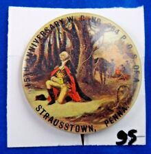 George Washington 15th Anniversary Presidential Political Pin Pinback Button