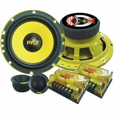 Car Audio Package Component System Bass Speakers Kit 6.5Inch Bass Music Receiver