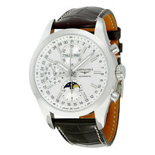 Longines Conquest White Dial Chronograph Automatic Mens Watch L27984723