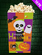 10 x HALLOWEEN Paper Treat Favour sweet Bags Party trick treat bags FREE P&P