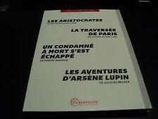 UN CONDAMNE A MORT S'EST ECHAPPE, LES AVENTURES D'ARSENE LUPIN, LES ARISTOCRATES